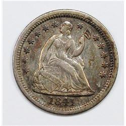 1841 HALF DIME