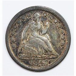 1847 HALF DIME