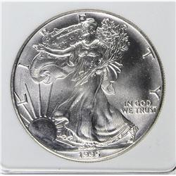 1995 AMERICAN SILVER EAGLE
