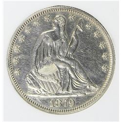 1879 SEATED HALF DOLLAR