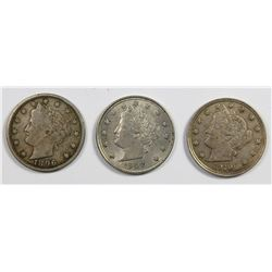 LOT OF NICE LIBERTY NICKELS: