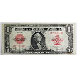 1923 DOLLAR RED SEAL U.S. NOTE