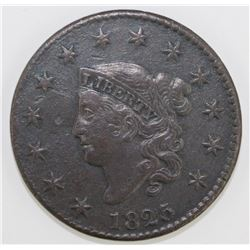 1825 LARGE CENT N-7