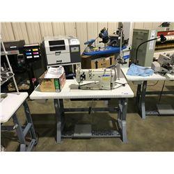 JUKI LU-1508N COMMERCIAL ELECTRONIC SINGLE NEEDLE SEWING MACHINE