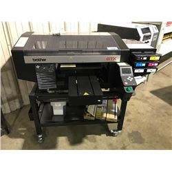 BROTHER GTX 6 CARTRIDGE DIRECT TO GARMENT PRINTER ON MOBILE STAND WITH INK CARTRIDGES