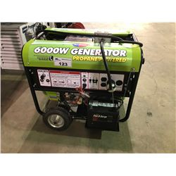 ALL-POWER 6000W PORTABLE PROPANE POWERED GENERATOR