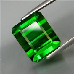 Natural Bluish Green  Tourmaline 9.47 Cts