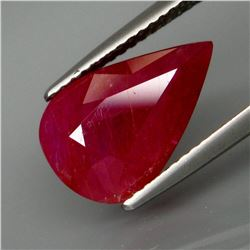 Natural Untreated Winza Mines Red Ruby 4.26 Cts