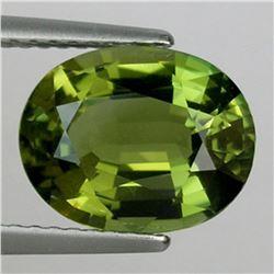 Natural Olive Green Tourmaline 3.065 Carats - VVS