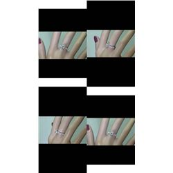 Natural Diamond Ring D/VS - 1.02 Cts Gold Ring