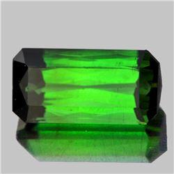 Natural Neon Chrome Green Tourmaline 4.92 ct - VVS