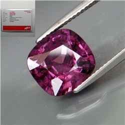 Natural Untreated Burma Purple Spinel - Certified