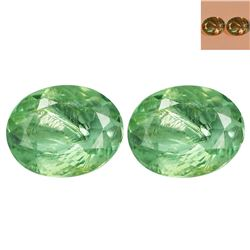 BEAUTIFUL PAIR NATURAL CERTIFIED ALEXANDRITES