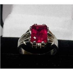 STUNNING 5 CT VVS1 RUBY RING