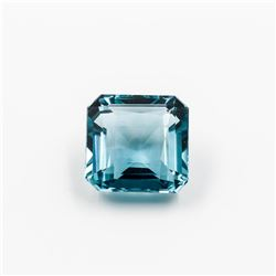 Beautiful 23.65 Ct Aqua Color Teal Quartz Solitare