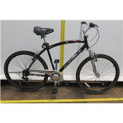 """Kent Glendale 27"""" Black Men's Fitness Series Black Cruiser Bike"""