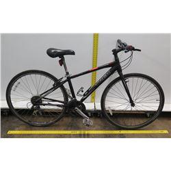 Trek FX Seven.Two Black Hybrid Mountain Road Bike
