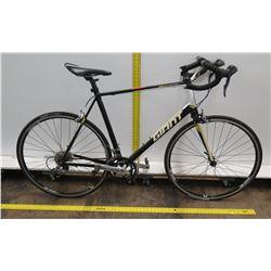 Giant Tempo FS SR-4 Men's Black Compact Road Bike w/ Racing Handlebars