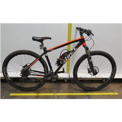 Kona Kahuna HK1 Rock Shox Red Mountain Bike w/ Zefal Bigfoot Pump