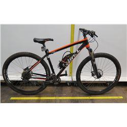 Kona Kahuna HK1 Rock Shox Red Mountain Bike w/ Zefal Bigfoot Pump