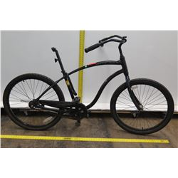 Chevaux Black Hybrid Bike w/ Coaster Brakes (No Seat)