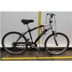 Kent Glendale CS Comfort Series 7 Speed Black Men's Dual Suspension Bike