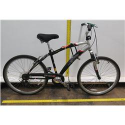 Kent Glendale CS Comfort Series 7-Speed Black Men's Dual Suspension Bike