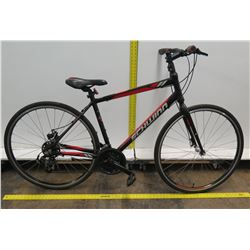 Schwinn Circuit Black Men's Hybrid Mountain Road Bike