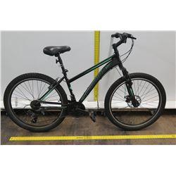 "Schwinn Sidewinder 26"" Steel Frame Black 7 Speed Mountain Bike"