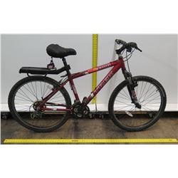 Trek 3700 Alpha Custom Aluminum Red Mountain Bike w/ Back Rack