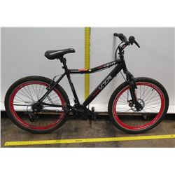 "Kent 2600 KZ Series KZR 26"" Men's Black 21 Speed Mountain Bike"