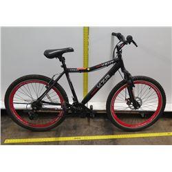 "Kent 2600 KZ Series KZR 26"" Men's Black 21-Speed Mountain Bike"