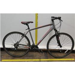 Micargi Men's Silver Black Road Bike