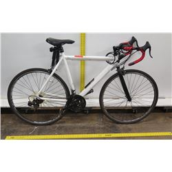 GMC Denali 700C White Road Bike w/ Racing Handlebars & Surf Rack