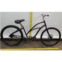 Men's Black Single Speed Cruiser Bike w/ Coaster Brakes