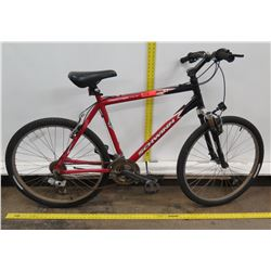 Schwinn Frontier FS AL Red Men's Mountain Bike
