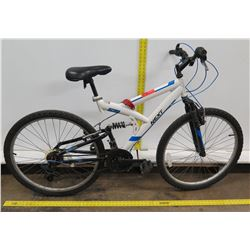 Next PX6.0 White Men's Dual Suspension Mountain Bike