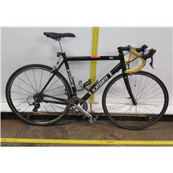 Scattante XRL Men's Black Carbon Road Bike w/ Racing Handlebars