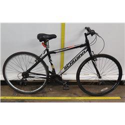 Schwinn Pathway Men's Black Hybrid Road Bike