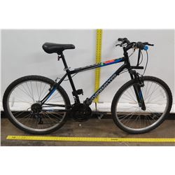 Roadmaster Granite Park 10-Speed Men's Black Mountain Bike