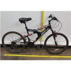 """Next Gauntlet Efficient Ride 18 Speed 14"""" Dual Suspension Bike"""