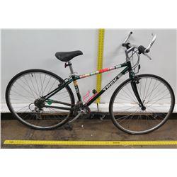 """Trek 730 Multi Track 15"""" Black Men's Hybrid Road Bike"""