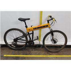 X Montague Military Technology HUMMER Tactical Folding Mountain Bike