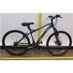 Huffy NightHawk Black Green 18 Speed Men's Mountain Bike