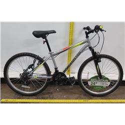 "Roadmaster Granite Park 24"" Men's Black Mountain Bike"