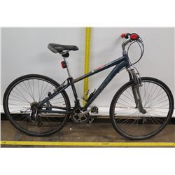 Chevaux Velo Mode Blue Hybrid Road Mountain Bike