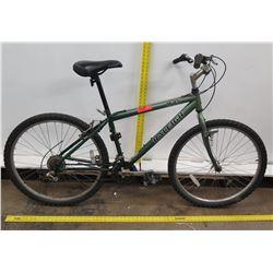Raleigh M45 Green Chromoly Frame Rigid Mountain Trail Bike