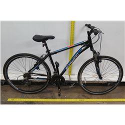 Schwinn 700C GTX1 Men's Blue Hybrid Road Mountain Bike