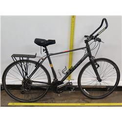 Giant Escape Gray Men's City Bike w/ Back Rack & Profile Handlebars