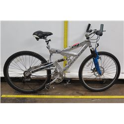 Royce Union VXA 3300 Silver 24 Speed Dual Suspension Mountain Bike